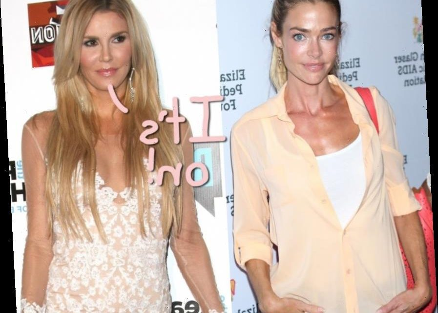 Denise Richards Finally Confronted With Brandi Glanville's Hookup Allegations In New RHOBH Ep: &#