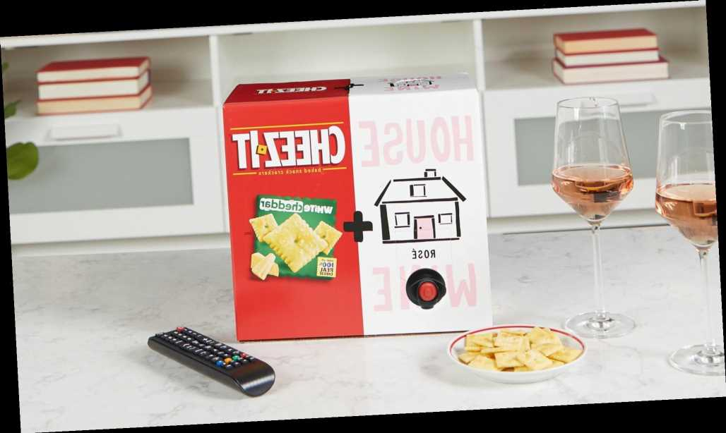 The Cheez-It & Wine Box Has Returned After Selling Out in Minutes Last Summer