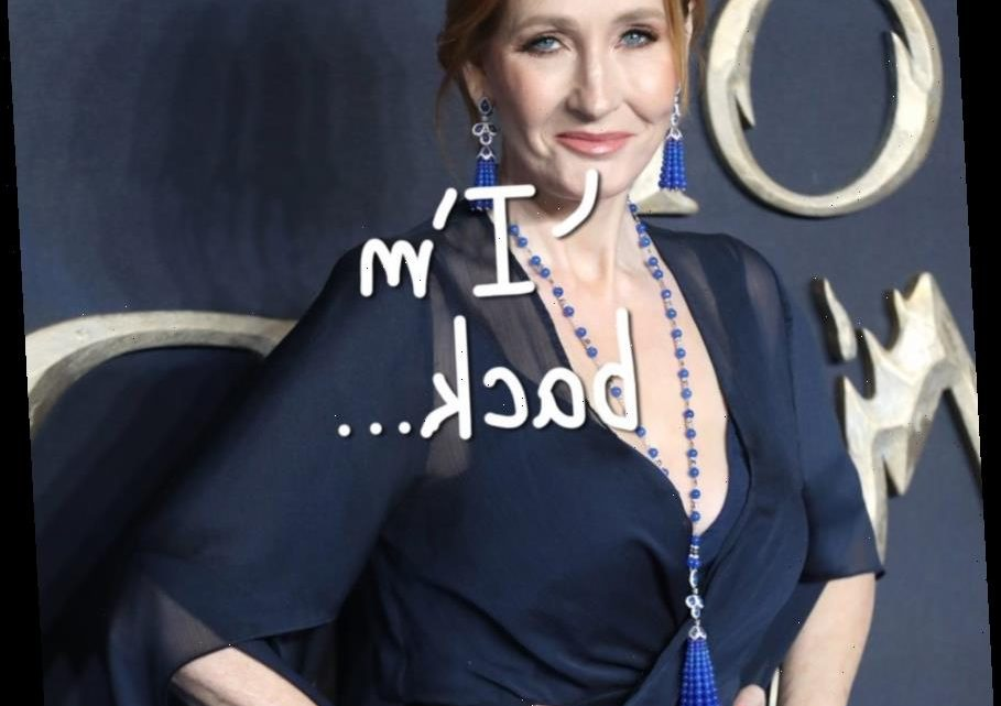 J.K. Rowling Releases New Statement About Her Stance On Transgender Rights…
