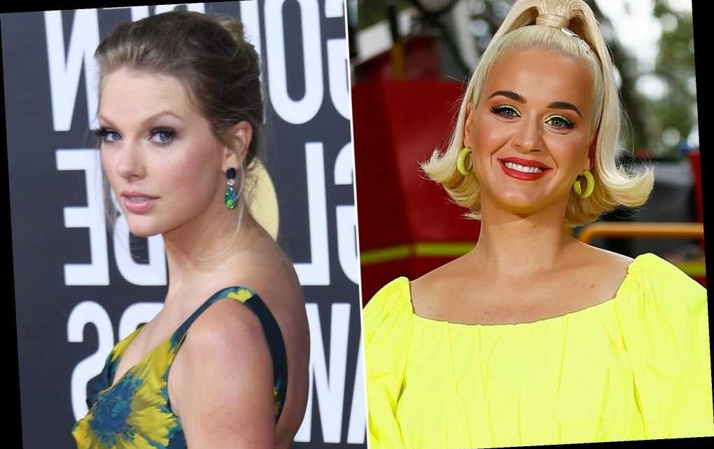 Katy Perry reacts to fan theory that she and Taylor Swift are cousins