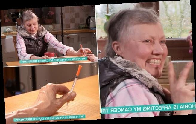 Woman with cancer couldn't continue treatment because of needle phobia