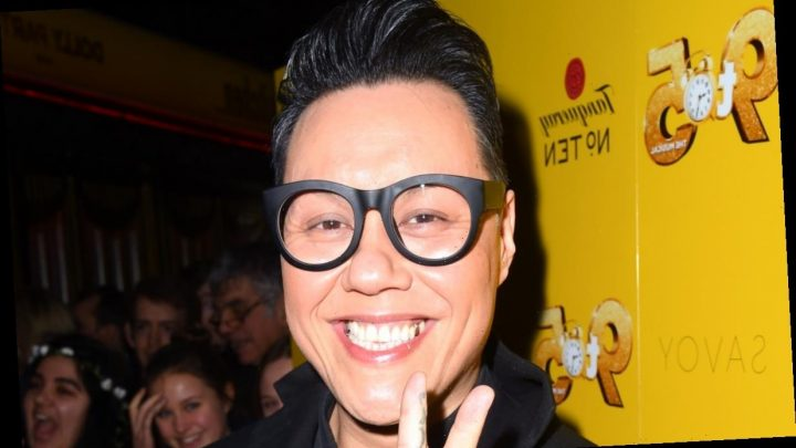 This Morning star Gok Wan shares details of garden makeover with lights and gold paint