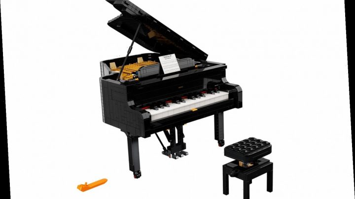Lego Just Released a 3,622-Piece Piano You Can Actually Play