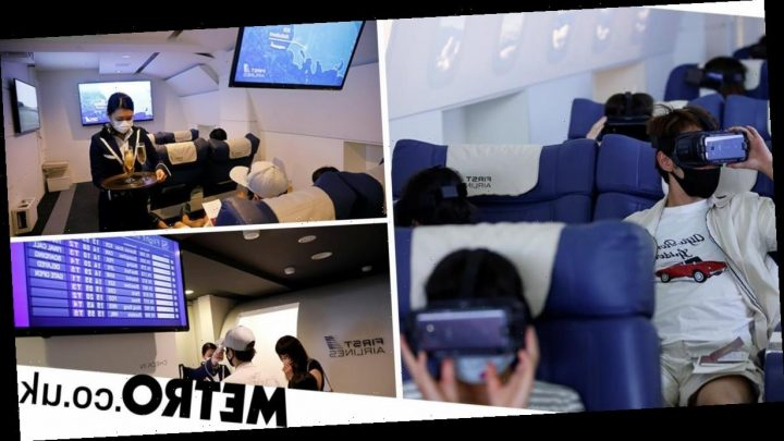 Japanese company is offering virtual reality flights to curb wanderlust