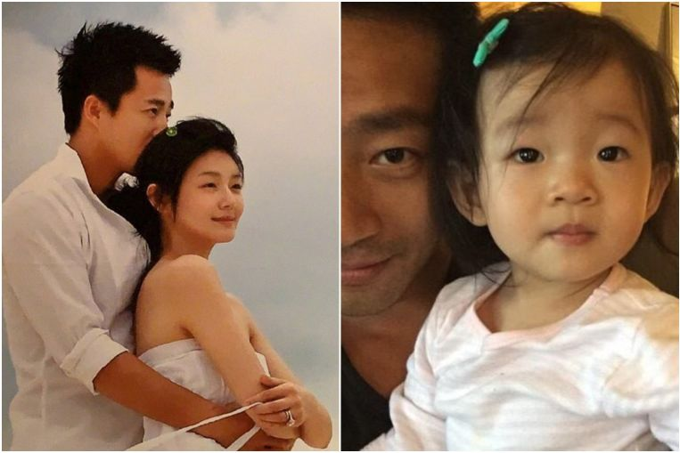 Taiwanese actress Barbie Hsu's husband Wang Xiaofei says he misses his wife and daughter after returning to China