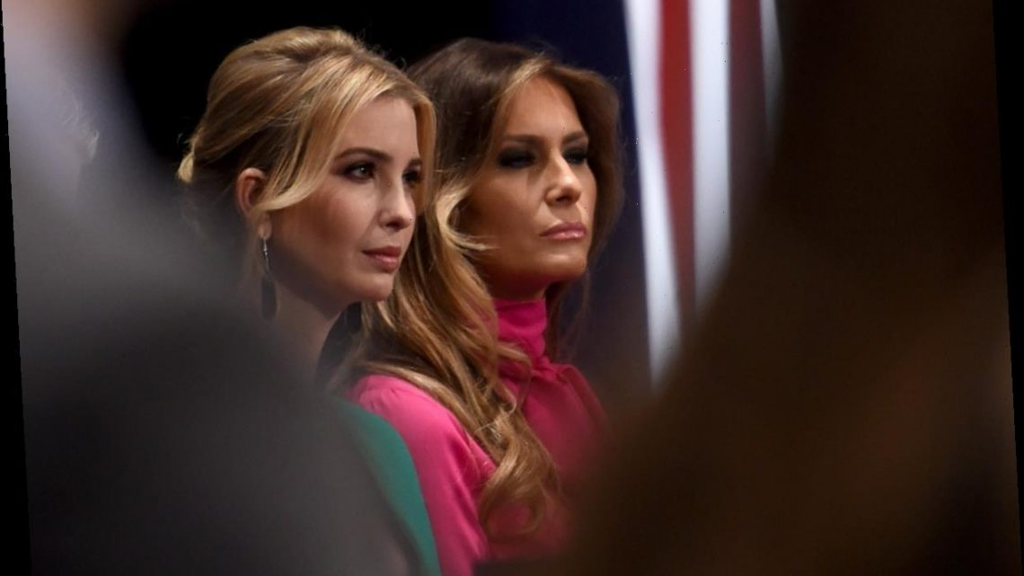 Melania Trump's Debate Night Suit Was A Stark Contrast From Ivanka's