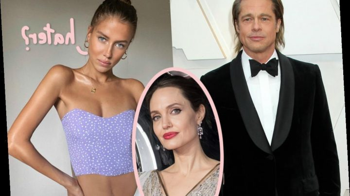 Brad Pitt's New Girlfriend Nicole Poturalski Has THIS To Say About His Ex Angelina Jolie!