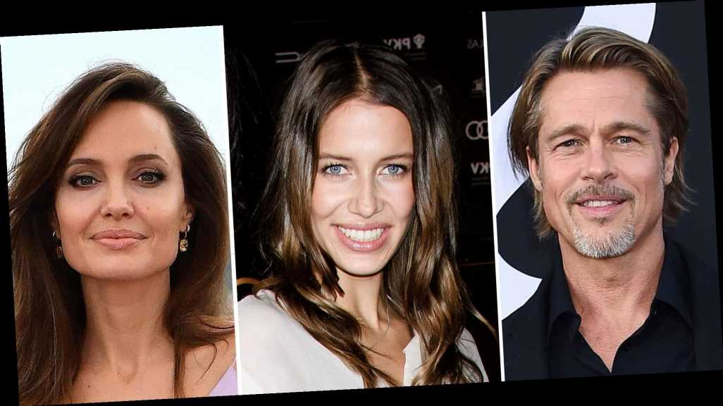 Brad Pitt Wasn't 'Angry' About GF Nicole Poturalski's Angelina Jolie Remark
