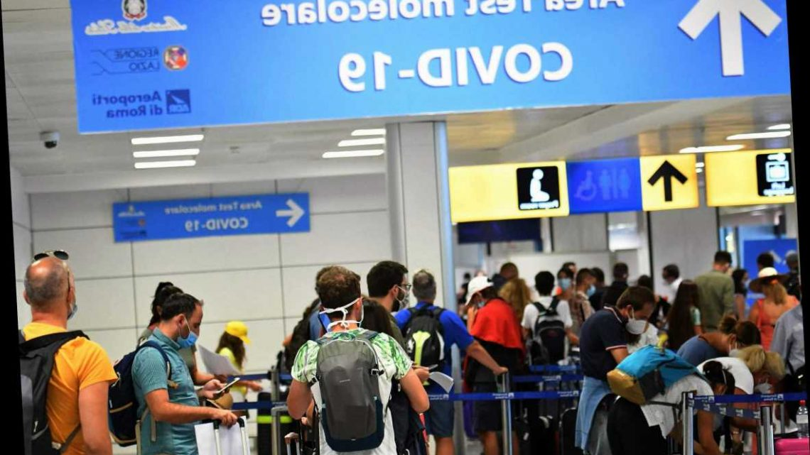Italy to offer 30-minute Covid tests before flights to make sure 'everyone is negative on board'