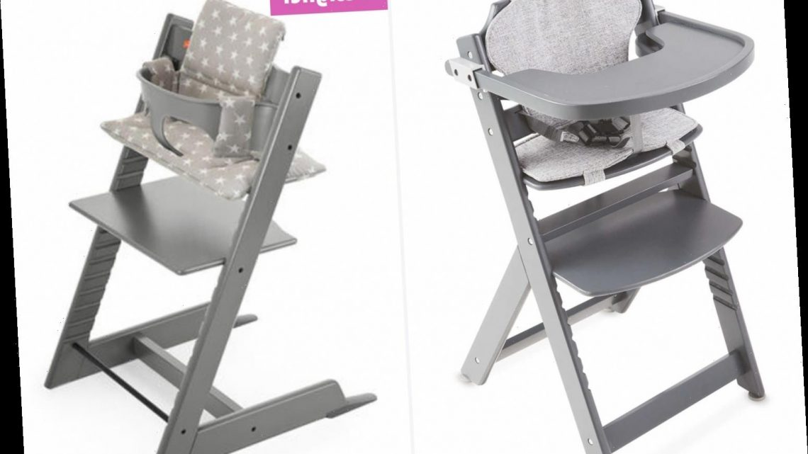 Mums are raving about Aldi's budget highchair which turns into a toddler seat saying it's a dupe of a £178 version
