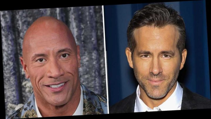 Ryan Reynolds Trolls The Rock After He Tears Down Front Gates With Bare Hands