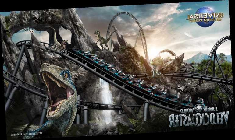 Universal Orlando Unveils Upcoming Jurassic World-Themed Rollercoaster