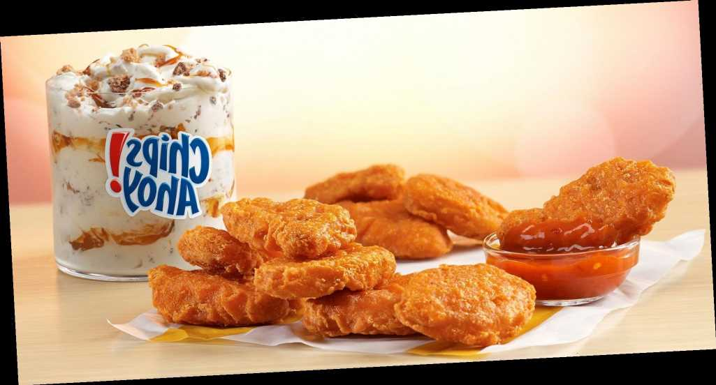 McDonald's Just Released Spicy Chicken Nuggets and a Chips Ahoy! Cookie McFlurry