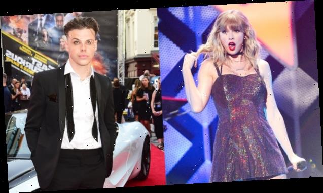 Taylor Swift's Blown Away After Yungblud Remixes 'Cardigan' With Avril Lavigne's 'I'm With You' — Watch 'Masterpiece'
