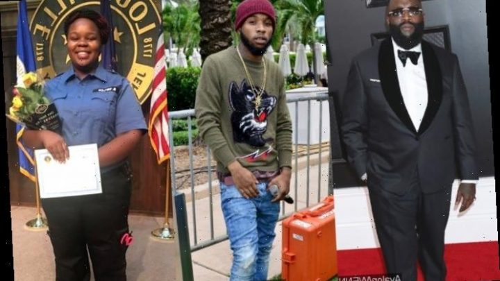 Rick Ross Hits Back at Tory Lanez for Accusing Him of Not Joining Breonna Taylor Protests