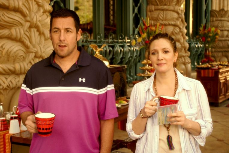 Adam Sandler is up for making another movie with frequent co-star Drew Barrymore