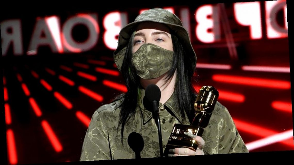 Billie Eilish Wore a Gucci Bucket Hat to Accept Her Multiple Billboard Music Awards