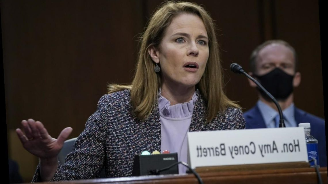 Amy Coney Barrett, law professor, can't name the First Amendment protections