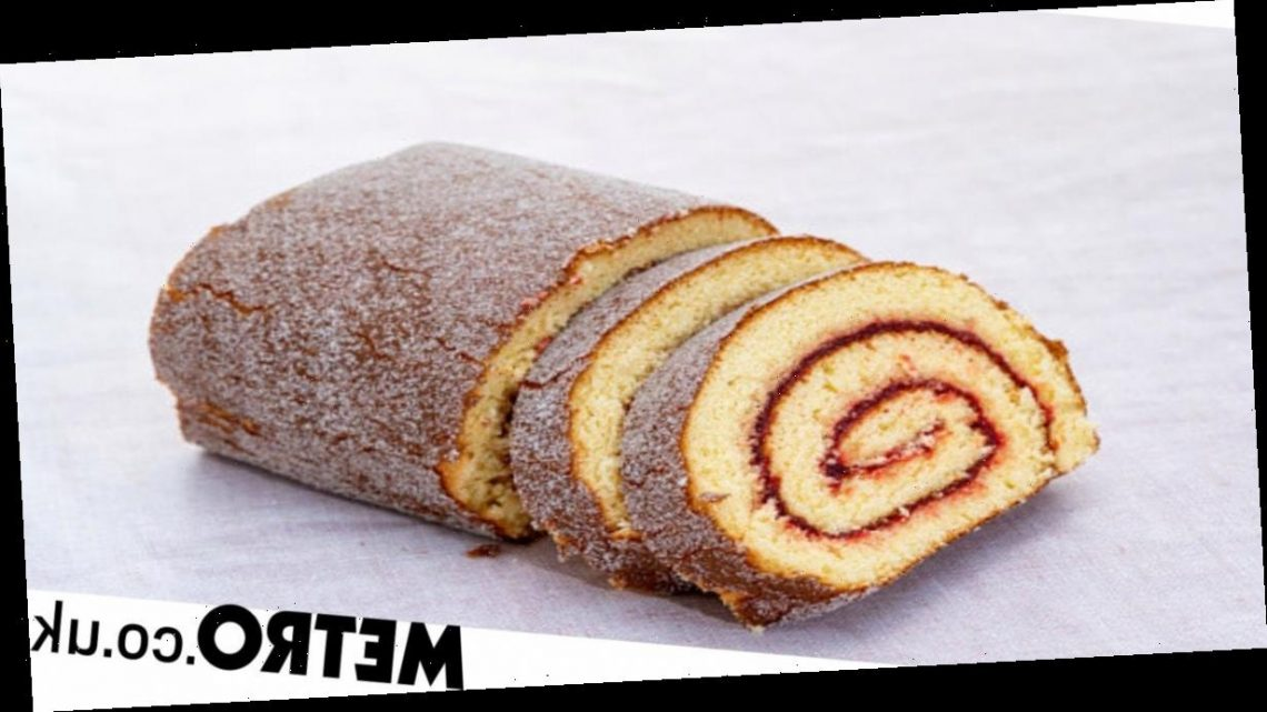 How to make a Swiss roll with just four ingredients in under half an hour