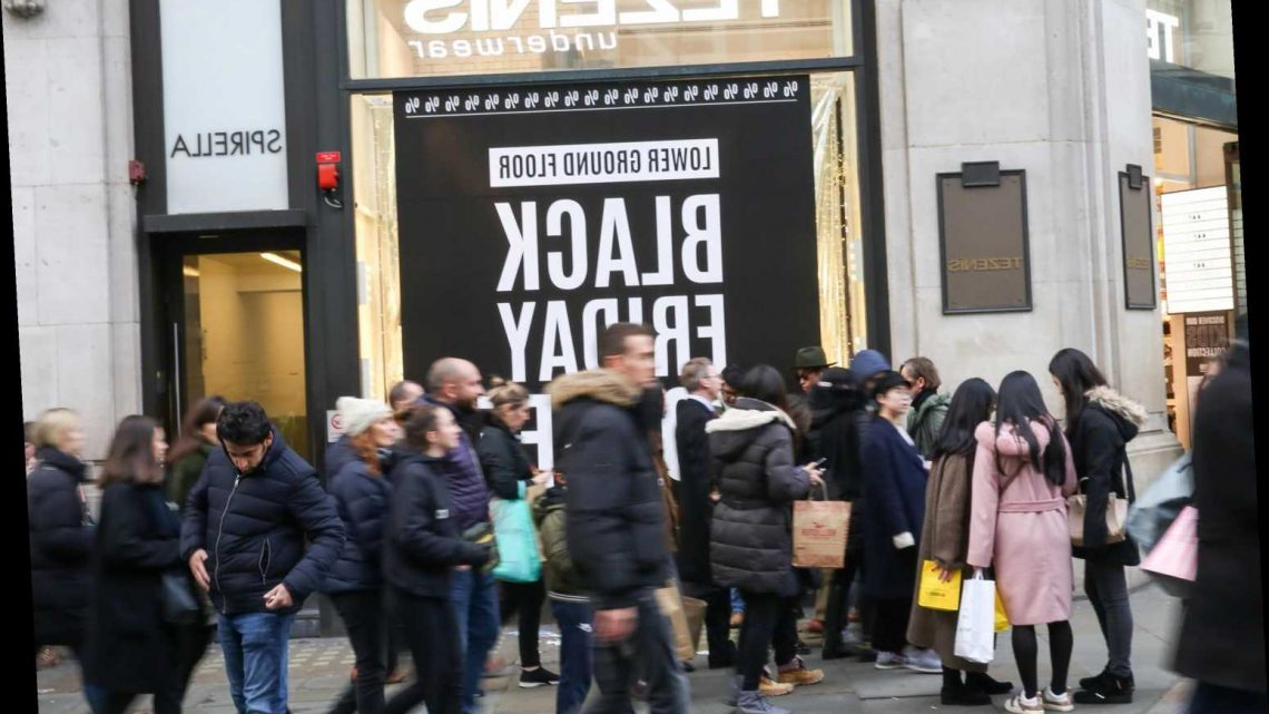 Black Friday spending set to hit £6bn with Brits splurging more than ever