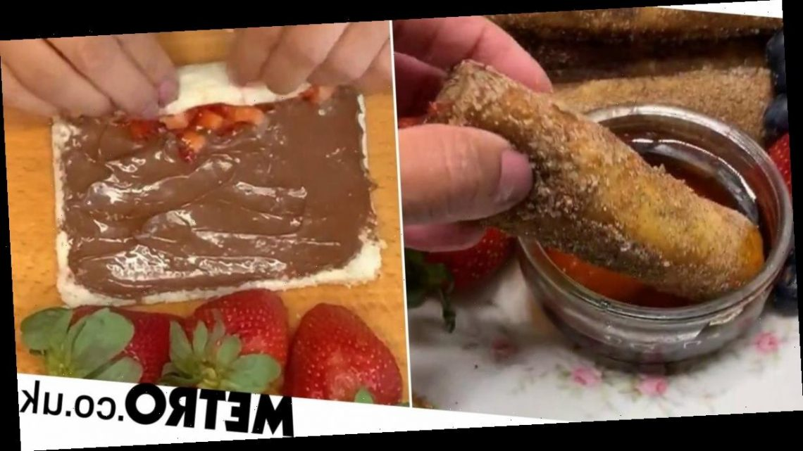 Woman shares recipe for Nutella-stuffed French toast fingers