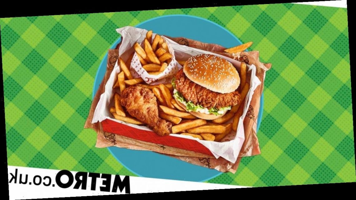 KFC's Wow Box is back and you can get a burger, chicken and chips for £3.50