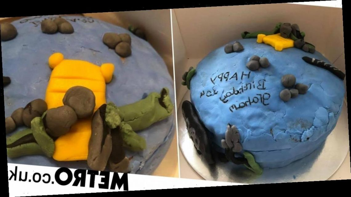 Woman distraught after ordering £50 cake that looks 'made by a child