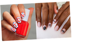 These Voting-Themed Nails Will Give Others a Gentle Nudge to Do Their Part This November