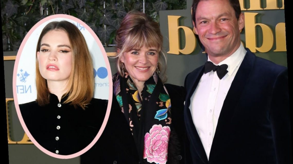 Dominic West's Wife Didn't Know! Reportedly 'Heartbroken' And 'Devastated' By Lily James Photos!