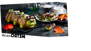 Colin The Caterpillar becomes Frankencolin in Halloween-themed makeover