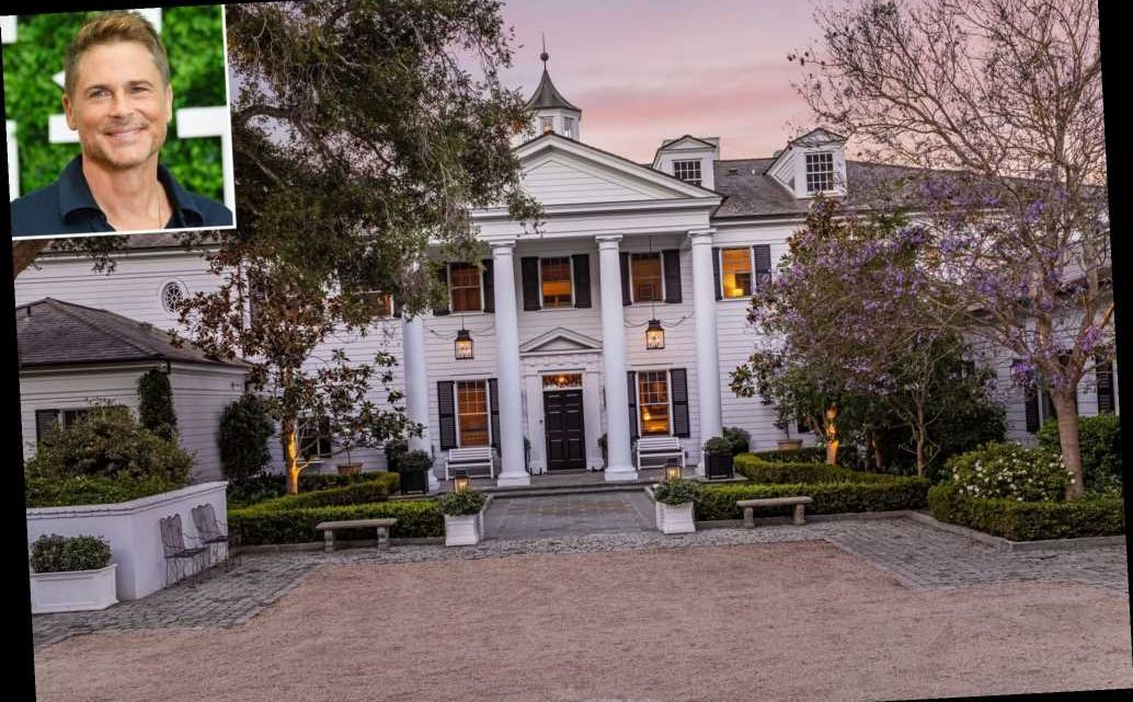 Rob Lowe and Wife Sheryl Finally Sell Stunning Montecito Mansion for $45.5M — See Inside!
