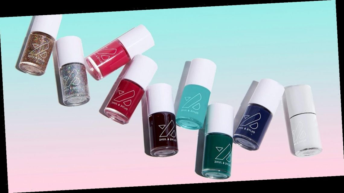 Olive & June Just Dropped a Winter Nail Polish Collection That's Perfect for the Holidays