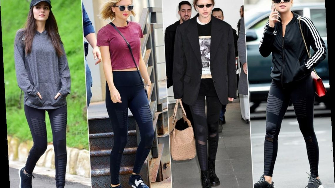 The Leggings Taylor Swift, Gigi Hadid, and Practically Every Celeb Owns Are on Sale Today