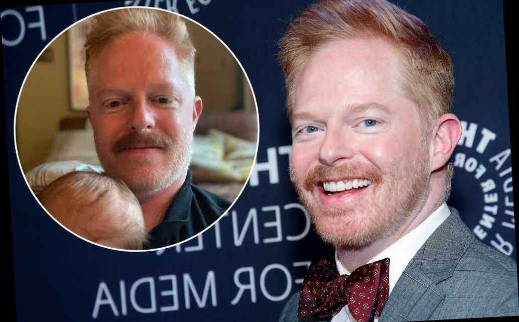 Jesse Tyler Ferguson posts pic with son Beckett: 'Now you can call me a daddy'