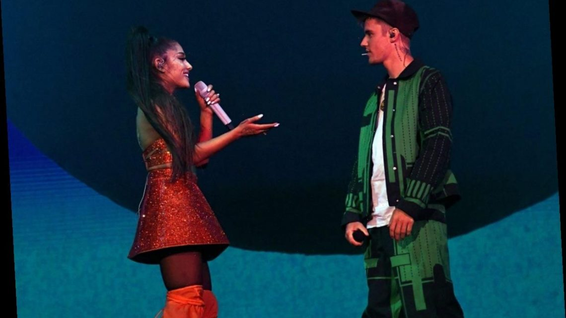 Ariana Grande's Single 'Positions' Tops Both of Justin Bieber's Recent Hits on iTunes