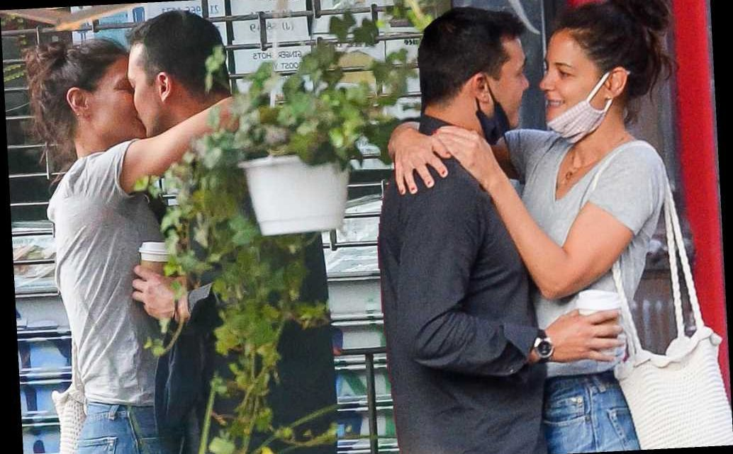 Emilio Vitolo's mom initially took issue with Katie Holmes relationship