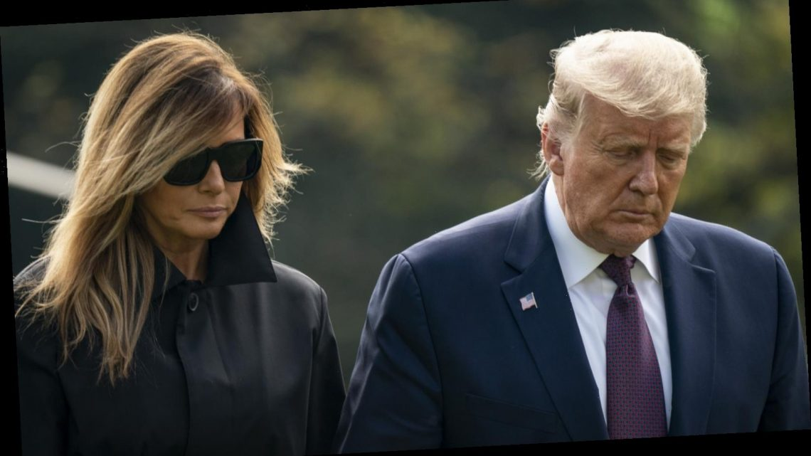 Does Melania have body doubles that travel with Donald Trump?