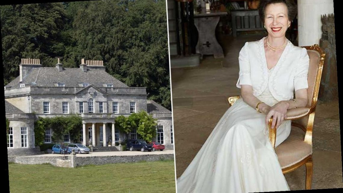 Princess Anne is neighbours with Victoria and David Beckham and Amanda Holden