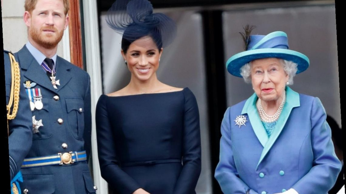 Queen Elizabeth Had a Secret Plan For Prince Harry and Meghan Markle to 'Give Everyone a Breather,' Expert Claims