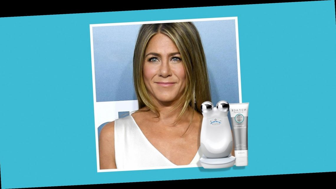 Get a Jennifer Aniston-Approved Microcurrent Facial With This Device That's on Major Sale RN