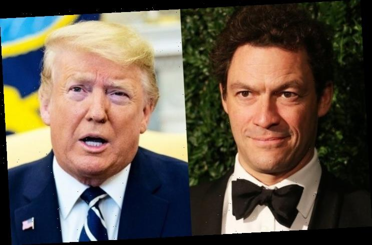Dominic West Leapt With Joy When He Heard of Donald Trump's Covid-19 Diagnosis
