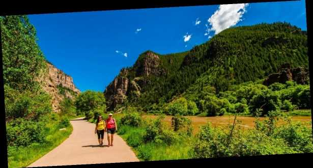 A scenic Colorado resort city in the Rocky Mountains says it will pay you $100 to visit