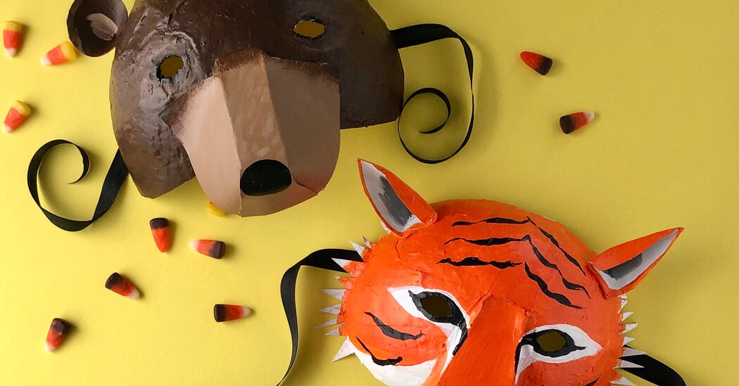 Use Papier-mâché to Craft a Halloween Mask