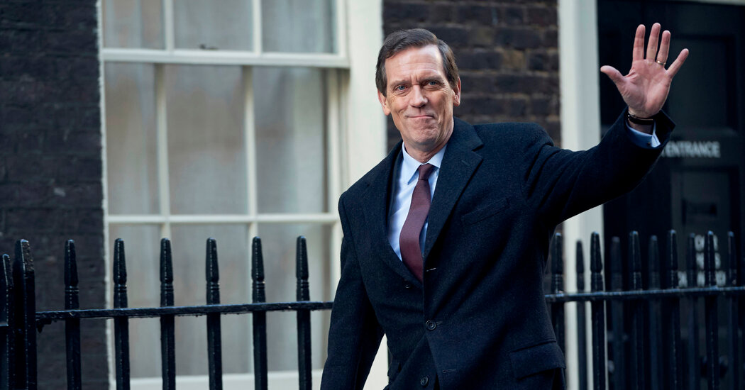 Review: Hugh Laurie Plays a Politician Trying to Avoid Cancellation
