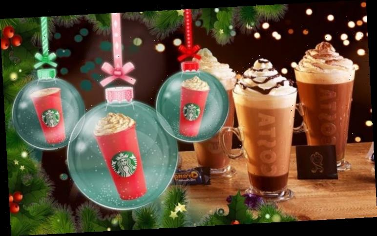 Pret A Manger, Starbucks and Costa Coffee share festive food and drinks menu for 2020