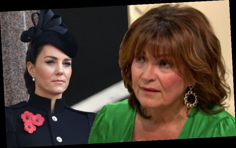 Lorraine Kelly reacts to 'annoyed' viewer over Kate Middleton reference 'It did sound odd'