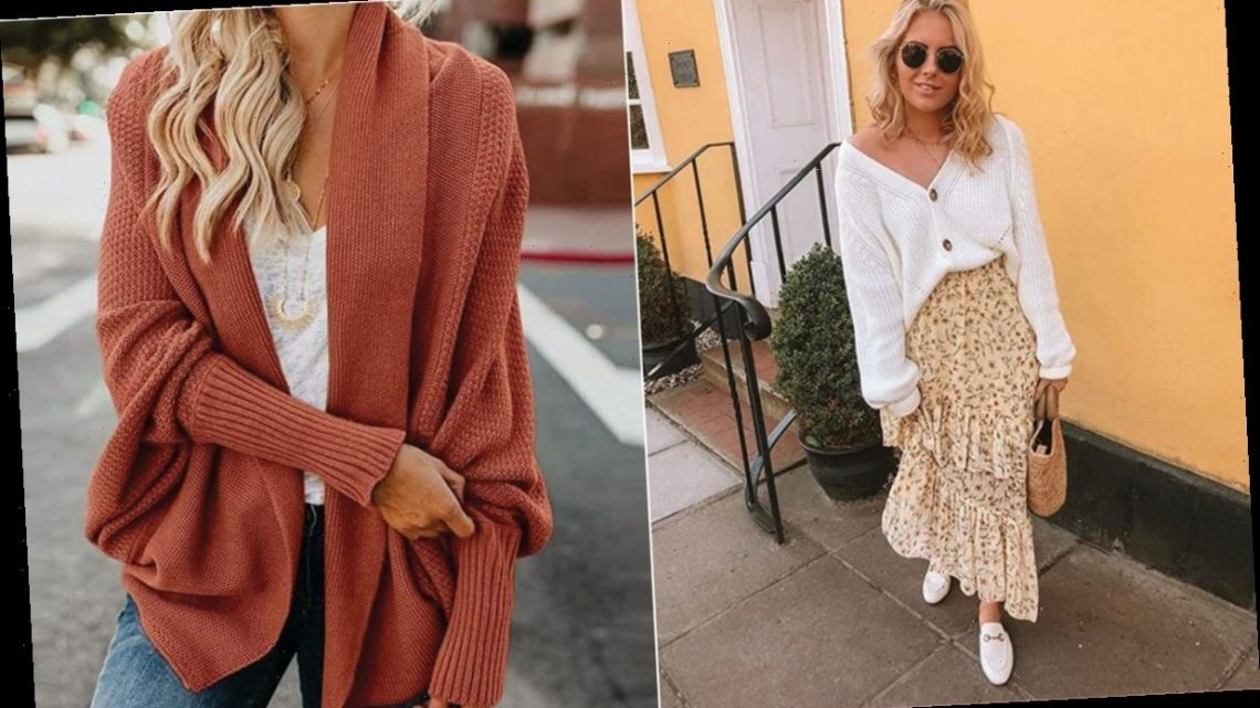 The 12 Best Oversized Cardigans