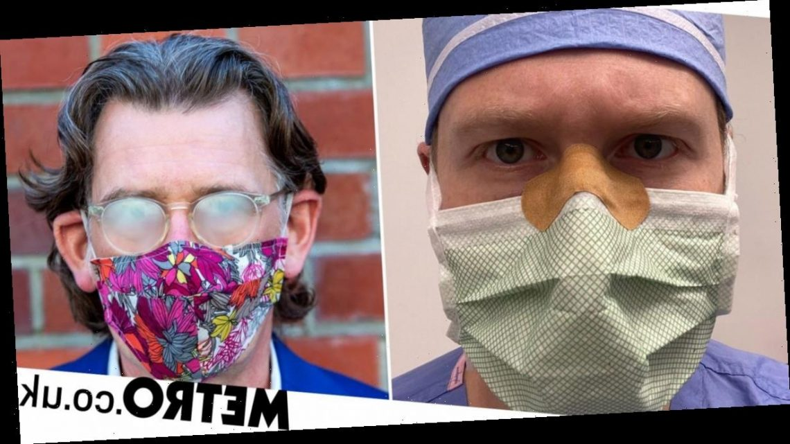 Doctor has simple solution to stop glasses fogging up from wearing a mask
