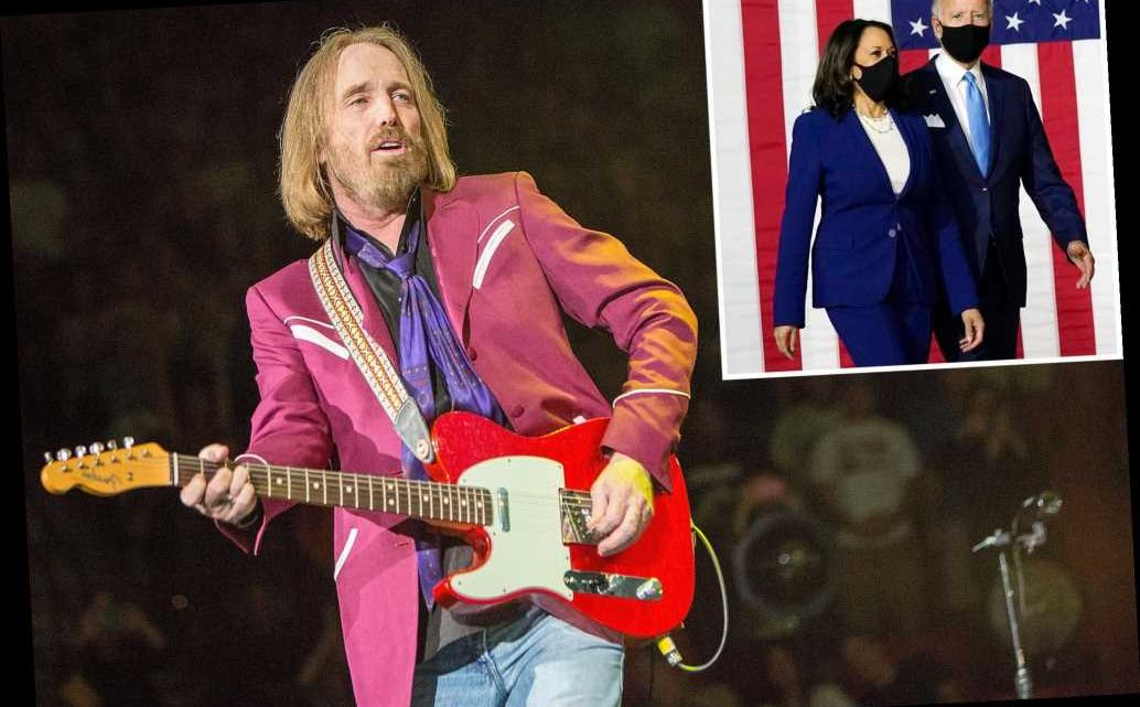 Tom Petty's family 'touched' by Joe Biden playing 'I Won't Back Down'