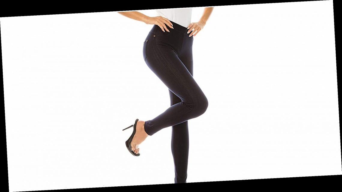 Surprise! These Stylish Jeans Are Actually Leggings